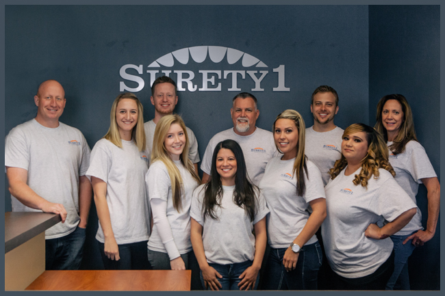 your surety bond team